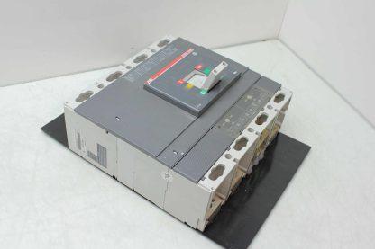 ABB 4 Pole Tmax Series T6L630 Circuit Breaker 630A Trip 1000V Ics 150 kA Used 172124049584 10