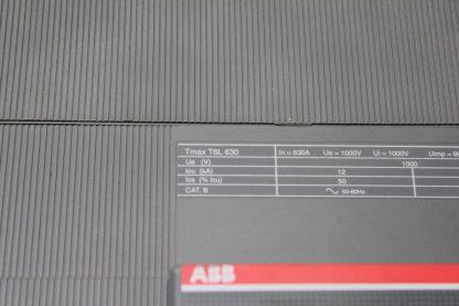 ABB 4 Pole Tmax Series T6L630 Circuit Breaker 630A Trip 1000V Ics 150 kA Used 172124049584 5