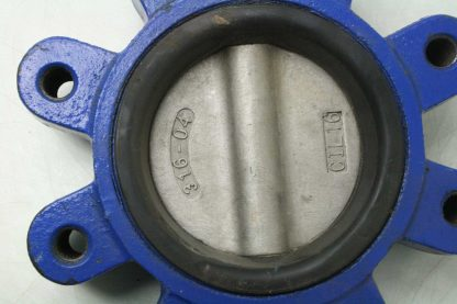 ABZ 4 DN100 Stainless Steel Flange Mount Butterfly Valve Viton Seals Used 172473221867 4