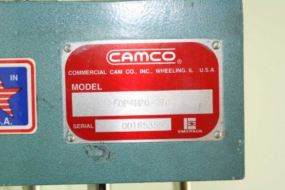 Camco 250P4H20 270 Parallel Indexer Drive Positioner Unit Used 172801234611 4