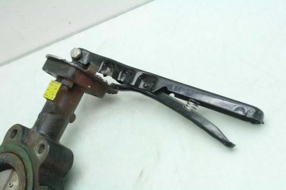 Center Line 200 4 DN100 Stainless Steel Butterfly Valve Manual Lever Controlled Used 172473248397 4
