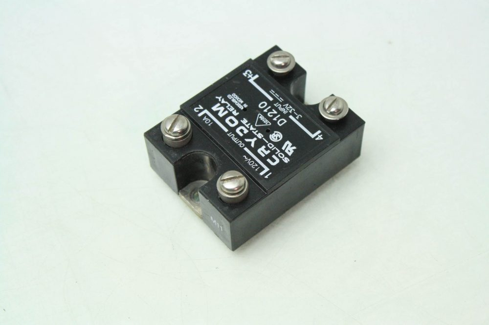 Solid State Relay Switch Time