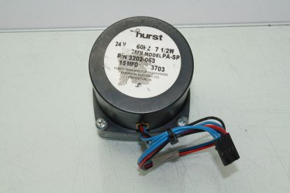 Hurst 3202 063 Synchronous AC Gear Motor 24V AC 75W Model PA SP Speed 2 RPM Used 181043664564 2