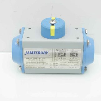 Jamesbury VPVL051 SR45 B C Part Turn Pneumatic Valve Actuator Used 183780985444