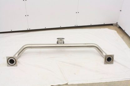 MDC Stainless Steel High Vacuum Tubing 63 Long ISO K DN100 Flanges ISO100 K Used 171430774298 4