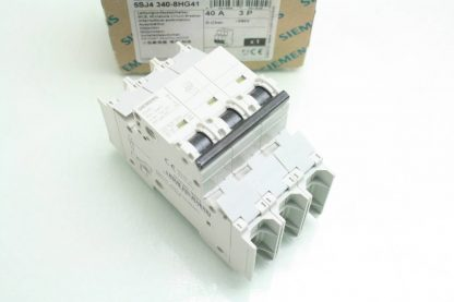 New Siemens 5SJ4 340 8HG41 Circuit Breaker 3 Pole 40A 240V AC New other see details 171866224437 4