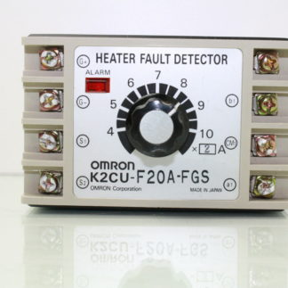 Omron K2CU F20A FGS Heater Fault Detector 220V AC Source Heater Voltage Used 181016296024