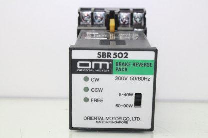 Oriental Motor SBR502 Brake Reverse Pack Controller with P2CF 11 Socket Used 172121795114