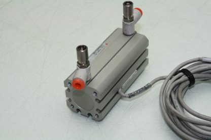 SMC NCDQ8A075 150M Pneumatic Guided Cylinder 34 Bore 1 12 Travel Used 172129101942 4