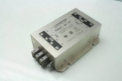 Schaffner FN351 25 33 Industrial Power Line Filter 25 Amps 440250 VAC Used 171881419934 5