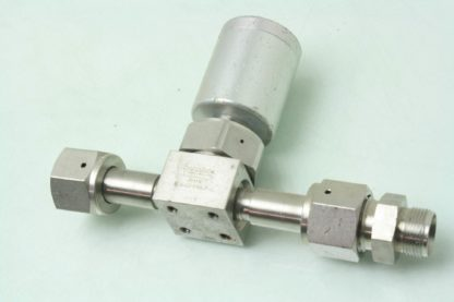 Swagelok 6LV DFFR8 P C Stainless Pneumatic Operated Diaphragm Valve 12 VCR Used 171303599084 3