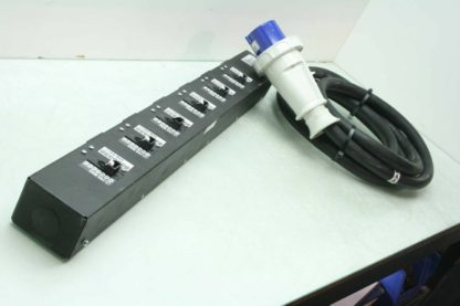 TeraData PDU Nema IEC60320 C19 6 Outlet Power Strip 200 240V Walther 269 409 Used 172443147254