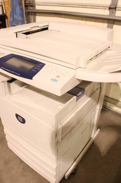 Xerox WorkCentre Pro C2128 Color Copier Laser Printer Scanner Fax Machine For parts or not working 172443154015 4