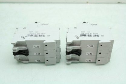 2 ABB S273 K10A Three Pole Industrial Circuit Breakers 10A Used 172570182561 5
