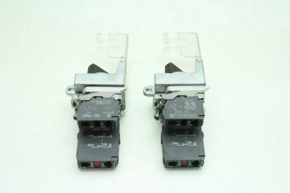 2 Fuji AR22EOL Black 2 Position Maintained Rotary Selector Switches Clear Covers Used 172566204037 15