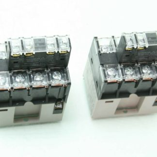 2 Omron G7Z 4A Multi Pole 4PDT Automation Power Relay 24V Coil Used 182931413615