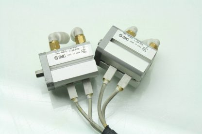 4 SMC CDQSKB12 10D M9 Air Cylinders 12mm Bore x 10mm Stroke w D F8P Switches Used 171343620630 5