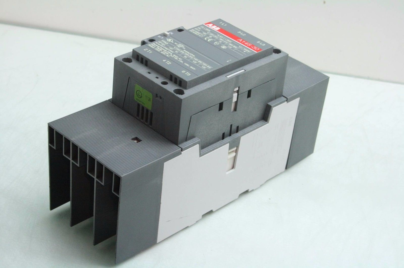 ABB A145-30 Contactor 120VAC Coil 250A / A14530 - Used on
