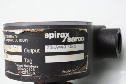 Emco Flow Systems Spirax Sarco Hydro Flow HF 2300 10 02 4 1 Flow Meter 40GPM Used 171267094095 8