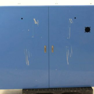 Hitachi Steel Two Door Wide Electrical Enclosure Box 1700mm x 1400mm x 450mm Used 182514641155