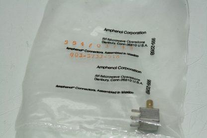 Lot of 42 New Amphenol 903 373J51A RF Connectors Coaxial Connectors PC RA New 172124059015 3
