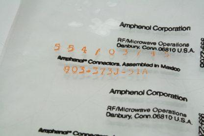 Lot of 42 New Amphenol 903 373J51A RF Connectors Coaxial Connectors PC RA New 172124059015 4