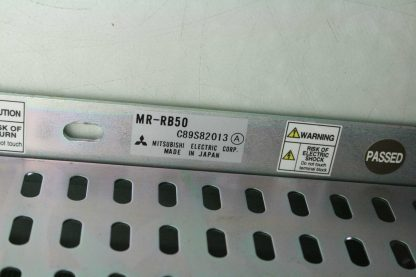 Mitsubishi MR RB50 Braking Resistor 300W Regenerative Power 13 Ohm Resistance Used 172370651715 25