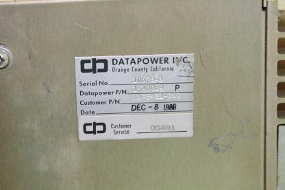 Modicon Model P421 184 Auxiliary PLC Power Supply Used 172512780908 15