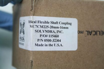 New Helical MC7CM225 Flexible Servo Shaft Coupler Coupling 20mm x 16mm Bore New 172654141845 4