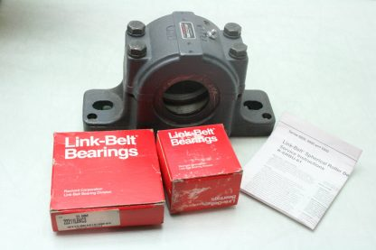 New Link Belt PLB6831R02 Mounted Spherical Roller Bearing 1 1516 Bore New other see details 171995001123 5