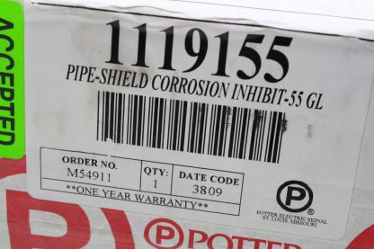 New Potter Pipe Shield Corrosion Inhibitor Fire Sprinkler Test Kit 1119170 New other see details 172124058975 3