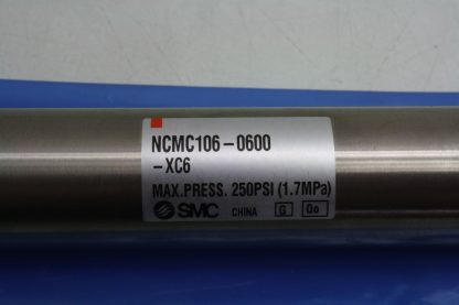 New SMC NCMC106 0600 XC6 Double Acting Pneumatic Cylinder 1 116 Bore 6 Stroke New 172242553684 5