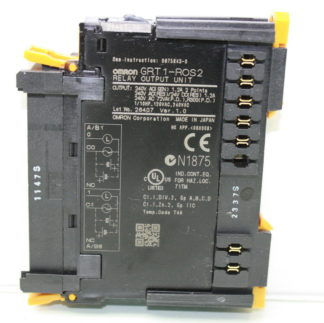 Omron GRT1 ROS2 Relay Output Module Unit Used 182043371765