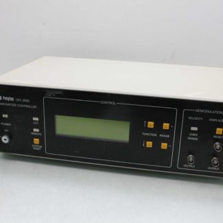 Polytec OFV 3001 VDD Modular Digital Vibrometer Controller Data Acquisition