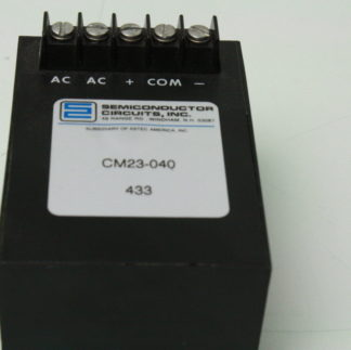 SCI CM23 040 Differential Power Supply 12V DC Used 172129101945