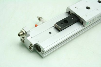 SMC 13 MXS12L 100A Pneumatic Guided Air Cylinder 12mm Bore x 100mm Stroke Used 172266888345 5