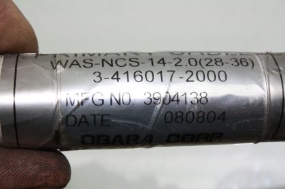 WA S NCS 14 20 28 36 Primary Cable Obara Adept Kawasaki Servo Power 3 PIN New other see details 172124059025 6