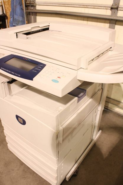Xerox WorkCentre Pro C2128 Color Copier Laser Printer Scanner Fax Machine For parts or not working 172443154015 25