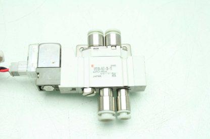2 SMC SY3120 6LZ C4 F2 Solenoid Valves Used 172887508536 2