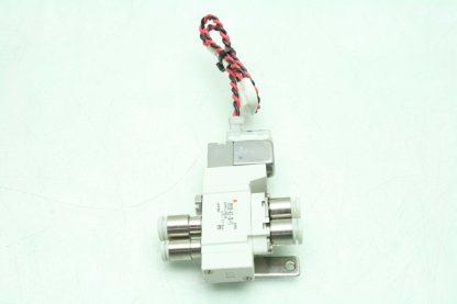 2 SMC SY3120 6LZ C4 F2 Solenoid Valves Used 172887508536 4