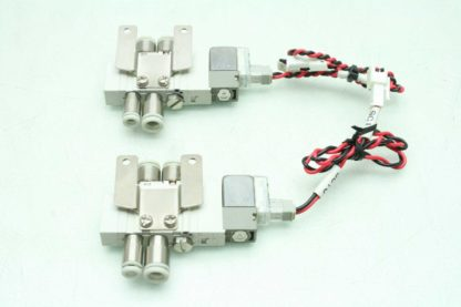 2 SMC SY3120 6LZ C4 F2 Solenoid Valves Used 172887508536 6