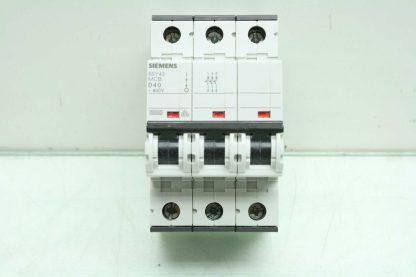 4 Siemens Circuit Breakers 5SY4332 6 5SY4340 8 5SY4116 8 5SY4111 7 Used 172766181276 26
