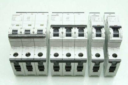 4 Siemens Circuit Breakers 5SY4332 6 5SY4340 8 5SY4116 8 5SY4111 7 Used 172766181276