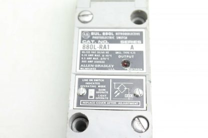Allen Bradley 880L RA1 Photoelectric Retroreflective Photo Switch A Series Used 172503606926 20