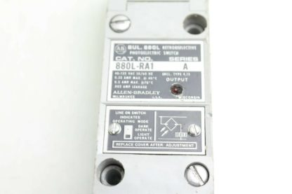 Allen Bradley 880L RA1 Photoelectric Retroreflective Photo Switch A Series Used 172503606926 5