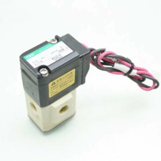 CKD MEG2 6 DC24V Solenoid Valve 3mm Orifice 3 Port 24V DC 18 Rc Port Used 182369987336