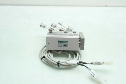 CKD STSB 1620 P73 Pneumatic Guided Air Cylinder T2H Limit Switches 16mm x 20mm Used 172568745389 16