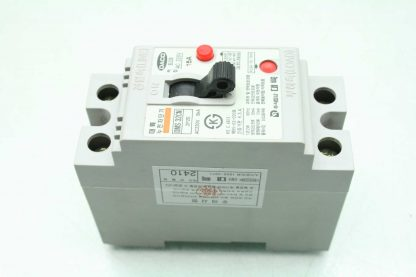 Daco DMS 32CN Circuit Breaker 15A 220VAC 2 Pole DIN Mount Used 172903960586 16