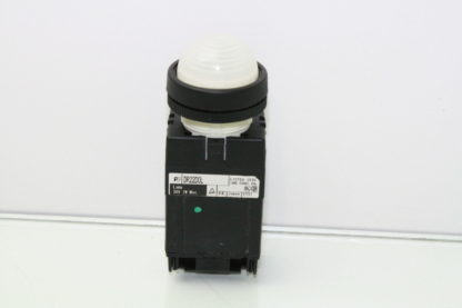 Fuji Electric AH22 ZM M3 Command Switch Pilot Light White LED Used 170952880706