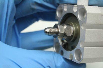 Koganei CDA25x25 Pneumatic Jig Air Cylinder 25mm Bore x 25mm Stroke Used 172474738436 6